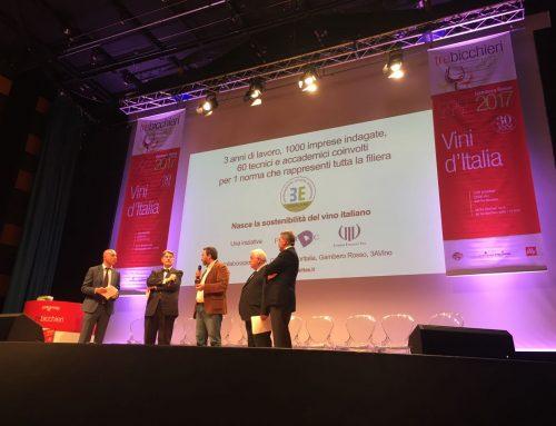 Presentazione di Equalitas alla premiazione Gambero Rosso 2016