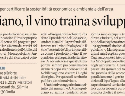 Montepulciano, il vino traina sviluppo – Gennaio 2017