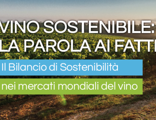 Sustainable wine from words to deeds: the sustainability report in the world wine markets.