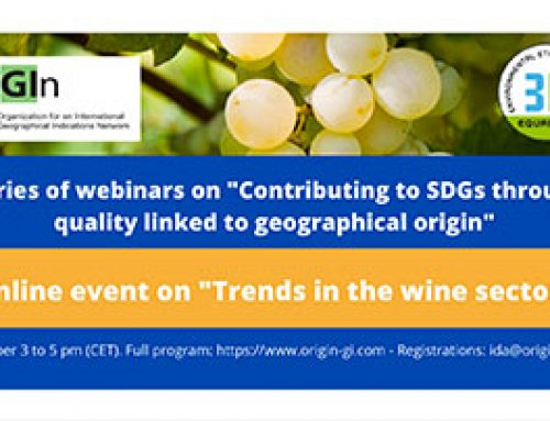 Trends in the wine sector – online event October 27, 2020
